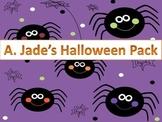 Fun Fall Festivities Halloween Packet-Games, Writing Promp