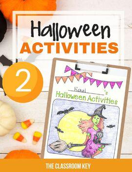 Halloween Craft Ideas For Kids 2nd Grade.Halloween Activities Packet For 2nd Grade