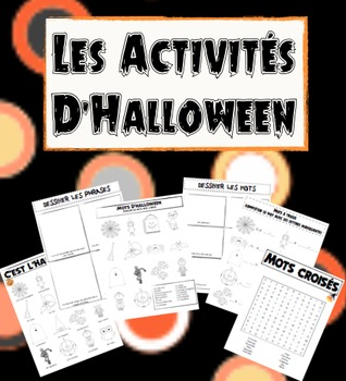 Halloween Packet (FRENCH)