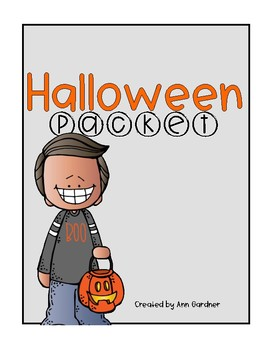 Halloween Packet - Word Skills, Word Searches and Poetry - Updated!!