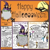Halloween Set - Zombies, Witches & Safety and Healthful Treats