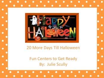 Halloween Packet of Fun