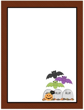 Halloween Page Border