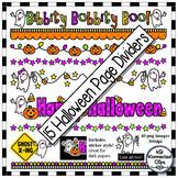 Halloween Page Dividers - Bibbity, Bobbity, Boo!