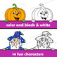 Halloween Page Toppers Clip Art | Peekovers