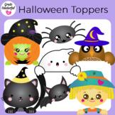 Halloween Topper Clipart