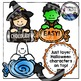 Halloween Page Toppers Clipart Bundle