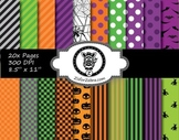 Halloween Paper Pattern Pack 1 - 20 pages - Commercial OK
