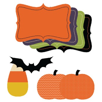 Halloween Papers & Clipart