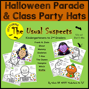 Halloween Parade Hats ~ Kindergarten to 2nd Grade