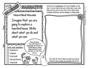 haunted house writing prompt