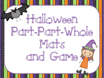 Halloween Part-Part-Whole Game and Mats