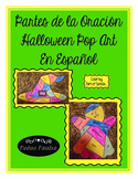 Halloween Partes de la Oracion Pop Art