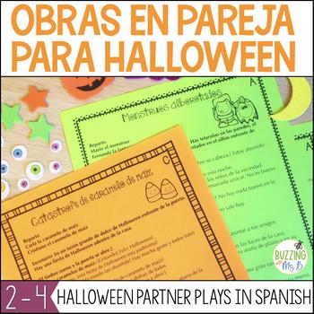Halloween Partner Plays in Spanish - Obras en pareja para Halloween en español