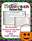 Halloween Activity: Halloween Reading Activity: Partner Skit