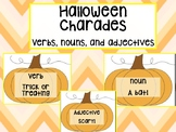 Halloween Parts of Speech Charades