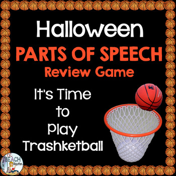 Halloween Parts of Speech (Nouns, Verbs & Adjectives) Tras