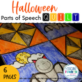 Halloween Parts of Speech Quilt
