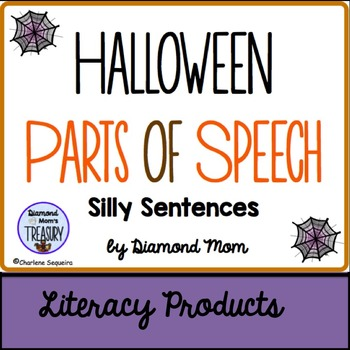 Halloween Parts of Speech - Silly Sentences