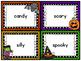Halloween Parts of Speech Sort (Nouns, Verbs, and Adjectives)