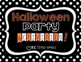 Halloween Party Activities