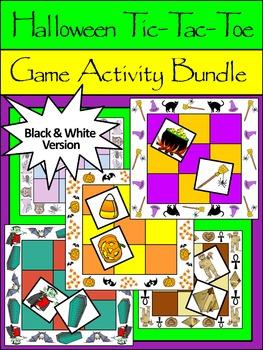 Halloween Party Activities: Halloween Tic-Tac-Toe Games Ac