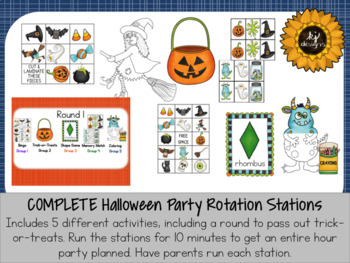 Halloween Party All-In-One Set