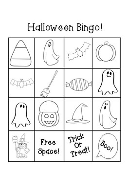 Halloween Party Bingo!  {30 unique bingo boards!}