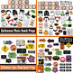 Halloween Party Bundle - Photo Booth Props, Decorations, B