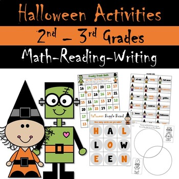 Halloween Theme Centers and Activities