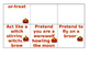 "Halloween Party ""Charade"" activity"