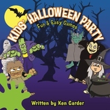 Halloween Party Game Book & Digital Music Download