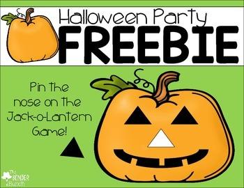 Halloween Party Game {Freebie}