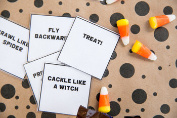 Halloween Party Game: Tricks or Treats?