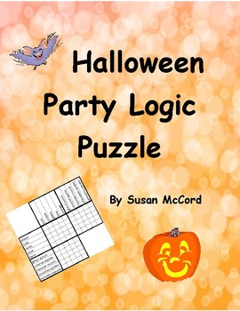 Halloween Party Logic Puzzle