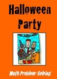 Halloween Party - Math Problem Solving
