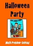Halloween Party - Math Problem Solving