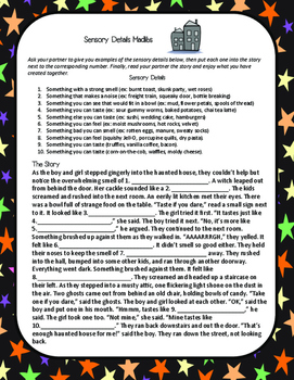 Halloween Party Pack: ELA Stations, Decor, Treat Table Tent and Tags