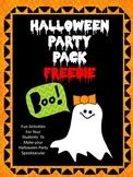 Halloween Party Pack Freebie