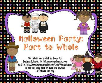 Halloween Party: Part to Whole