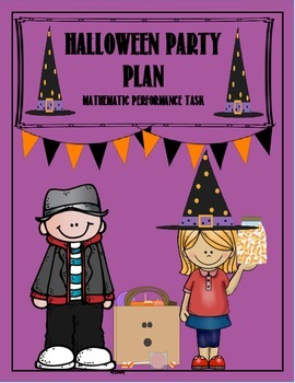 Halloween Party Plan Performance Task