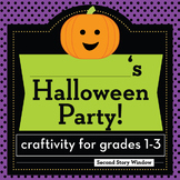 Halloween Activity • Halloween Party Planning Craftivity