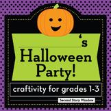 Halloween Party Planning Craftivity
