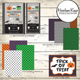 Halloween Party Printable,Digital Party Supplies