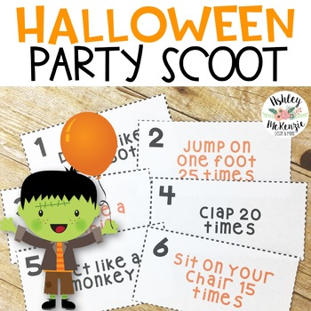 Halloween Party Scoot -30 Fun Task Cards!