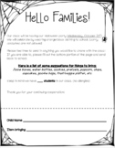 Halloween Party Sign Up Sheet