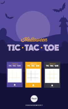 Halloween Party Tic Tac Toe
