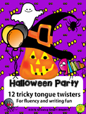 Halloween Tongue Twisters for Fluency