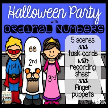 Halloween Party with Ordinal Numbers