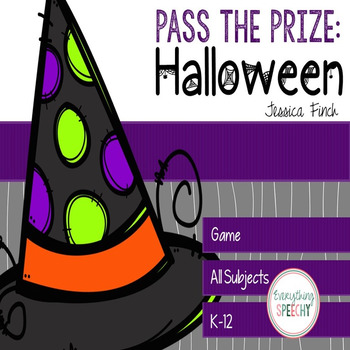 Pass the Prize Following Directions Game: Halloween